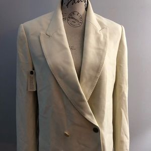 Wilfred - Lefou cream blazer double breasted
